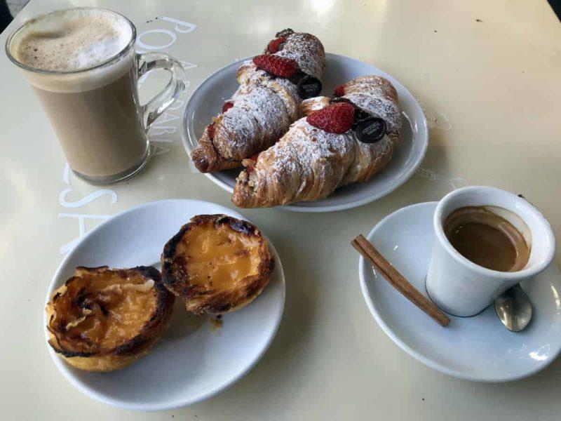 португальская кухня, кофе, паштейш де ната Pasteis de Nata