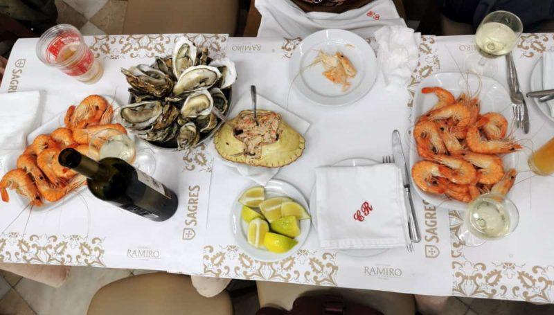 португальская кухня, Cervejaria Ramiro, Lisboa