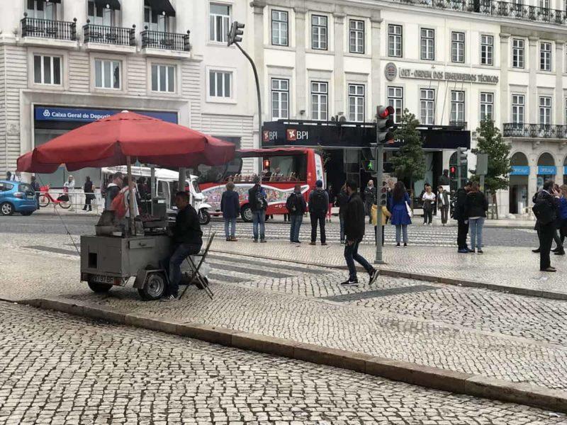 португальская кухня, каштаны, лиссабон