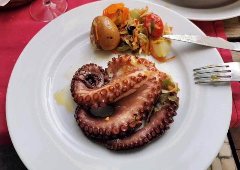 португальская кухня, осьминог