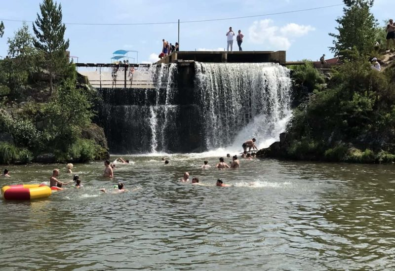 карпысакский водопад