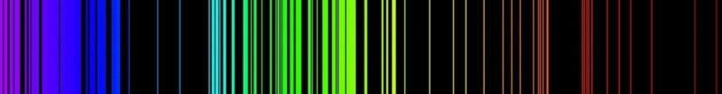 квантовая физика, эмиссионный спектр