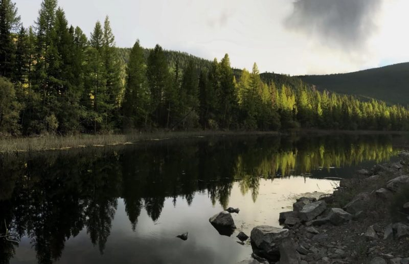 горный алтай пейзаж на закате
