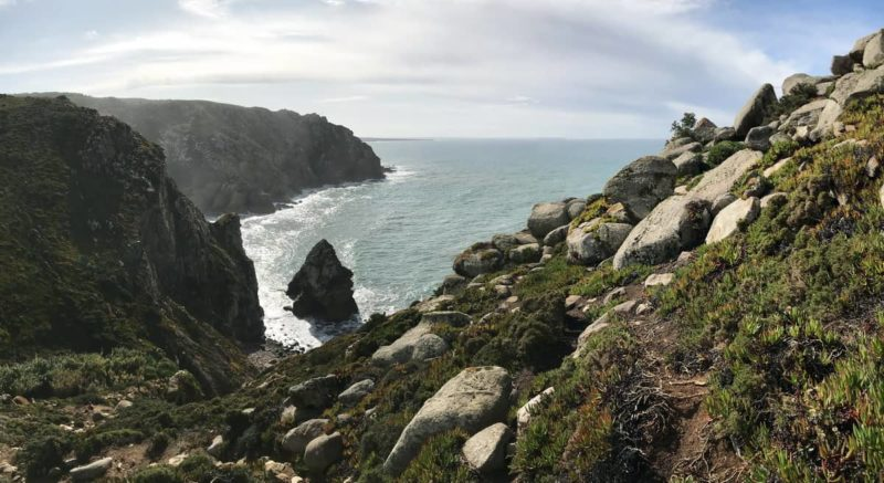 скалы на мысе Рока, rocks at Cape Roca