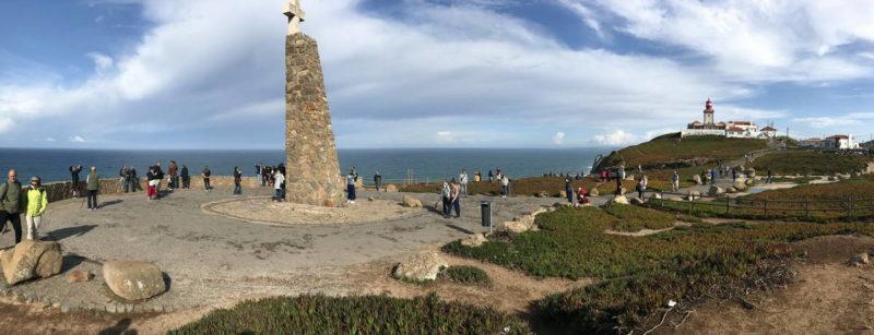 стела мыс Рока, Monument announcing Cabo da Roca