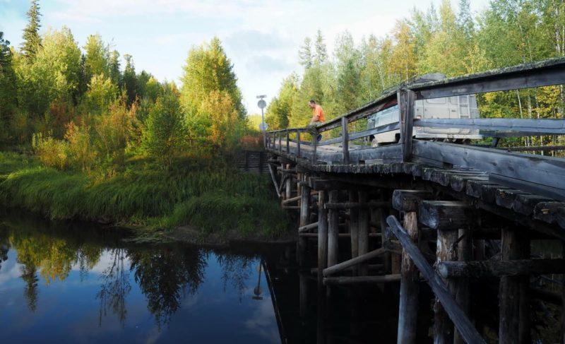 мост через реку Касайга
