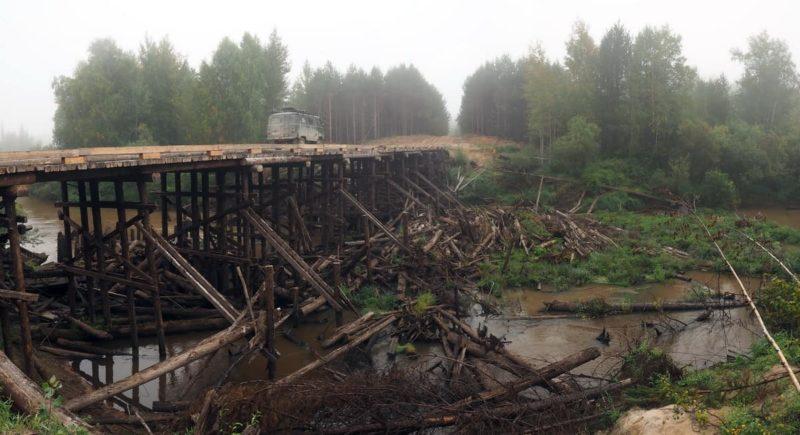 мост через реку Ломоватая