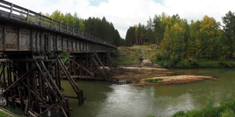 река Утка, тайга, Томская область