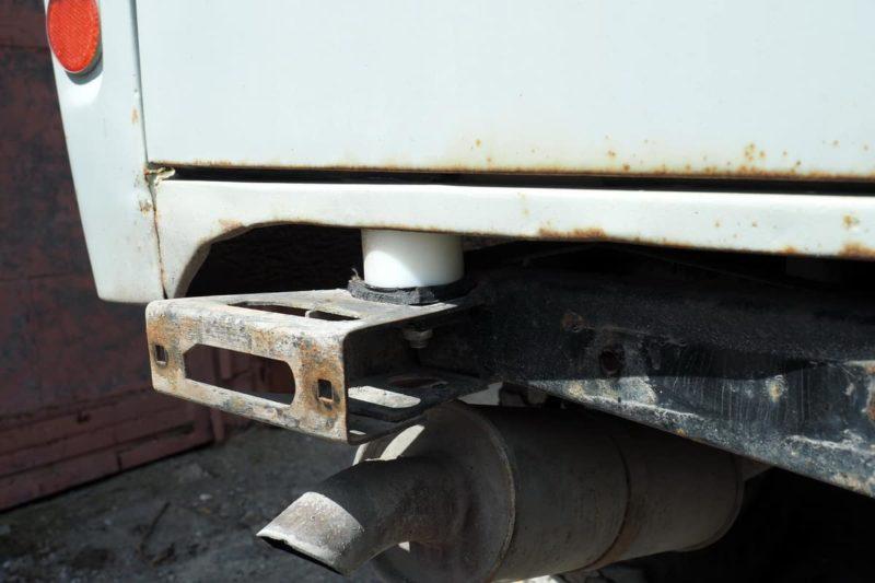 силовой бампер РИФ самостоятельная установка на уаз